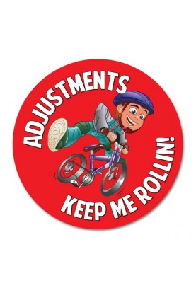 Adjustments Keep Me Rollin **SOLD OUT**