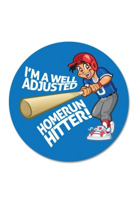 Well Adjusted Homerun Hitter