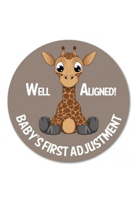 Well Aligned!  Baby's First Adjustment