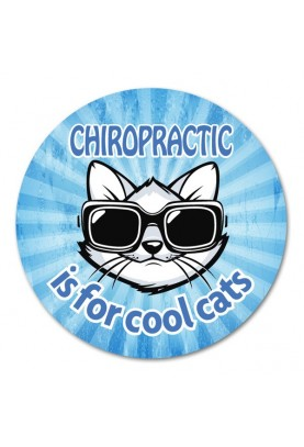 Chiropractic is for Cool Cats **SOLD OUT**
