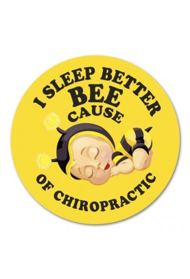 I Sleep Better Bee Cause of Chiropractic