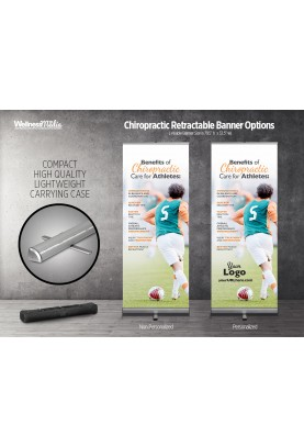 Chiropractic for Athletes Banner - Soccer