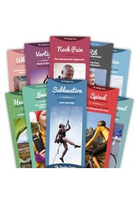 Chiropractic Healing Series Brochure Package