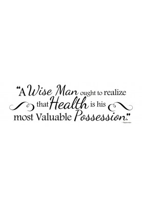 """A Wise Man Decal - 30"""" x 10"""""""