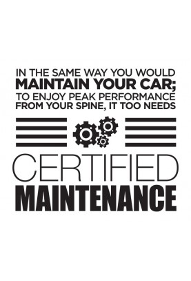"Certified Maintenance Decal - 22"" x 20"""