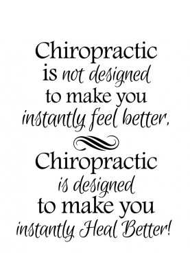 """Designed to Heal Better Decal - 22"""" x 29"""""""