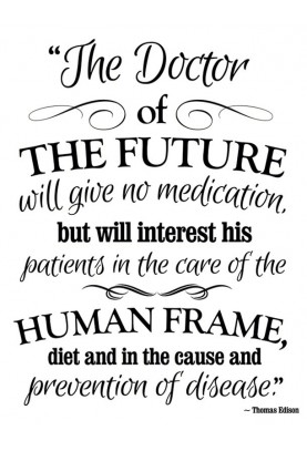 "Doctor of the Future Decal - 22.5"" x 28"""