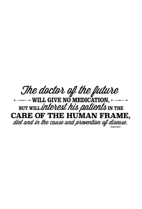 "Doctor of the Future Decal - 30"" x 11"""
