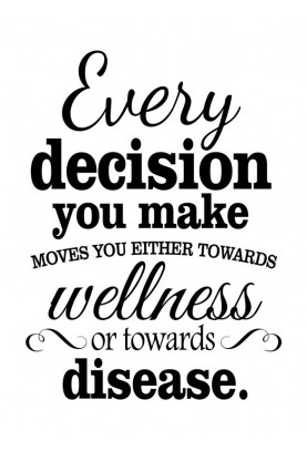 """Every Decision Decal - 22"""" x 28"""""""