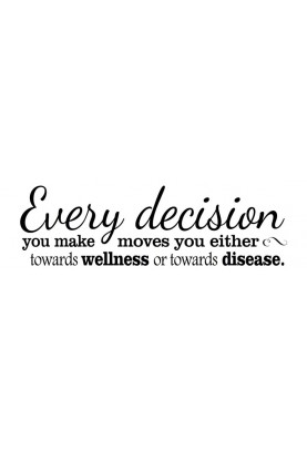 "Every Decision Decal - 30"" x 10"""