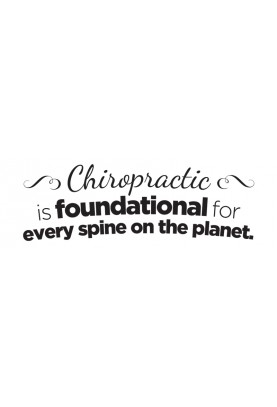 """Every Spine on the Planet Decal - 30"""" x 10"""""""