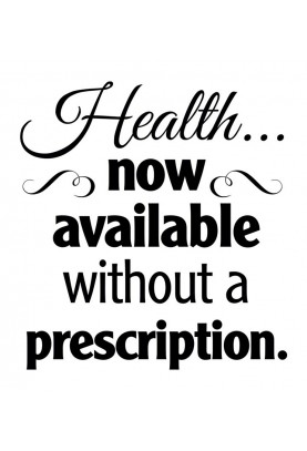 "Health Now Available Decal - 22"" x 24"""