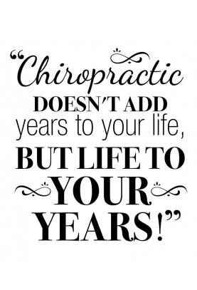 """Life to Your Years Decal - 22"""" x 24"""""""