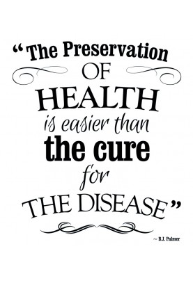 "Preservation of Health Decal - 22.5"" x 26"""