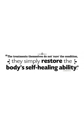"""Restore the Body's Self Healing Decal - 30"""" x 10"""""""