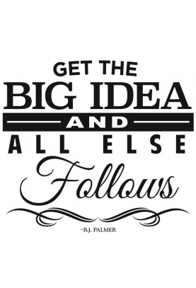 "The Big Idea Decal - 22"" x 24"""