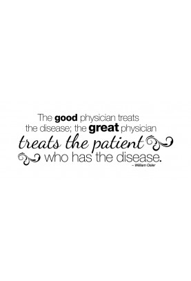 """The Great Physician Decal - 28"""" x 10"""""""