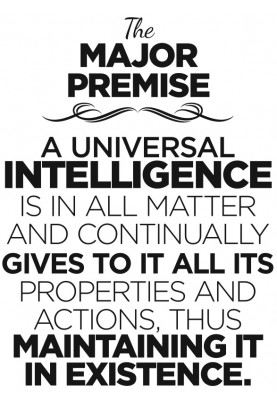 "The Major Premise Decal - 22"" x 30"""