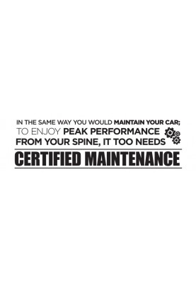 "Certified Maintenance Decal - 60"" x 20"""