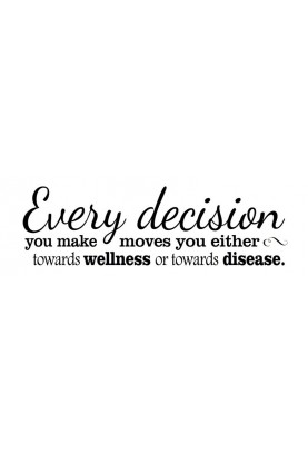 "Every Decision Decal - 60"" x 20"""