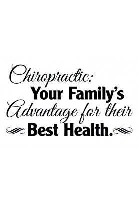 "Family's Advantage Decal - 36"" x 22"""