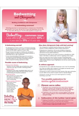 Bedwetting and Chiropractic Handout