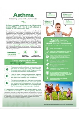 Chiropractic and Asthma Handout