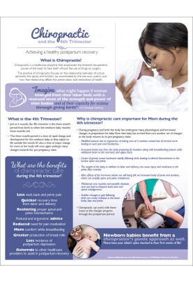Chiropractic and The 4th Trimester Handout