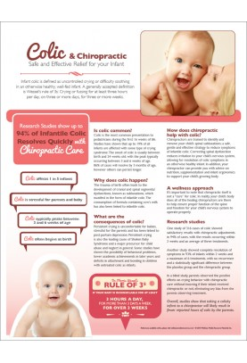 Colic and Chiropractic Handout