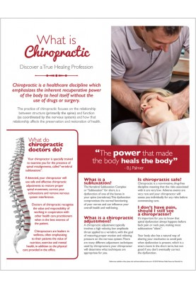 What is Chiropractic Handout