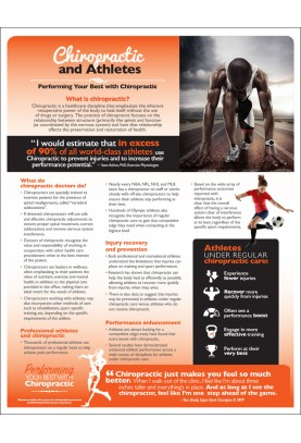 Chiropractic and Athletes Handout