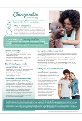 Chiropractic and Fertility Handout