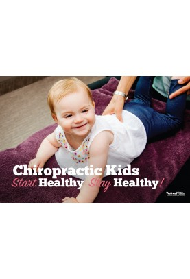 Chiro Kids Start Healthy Stay Healthy Poster