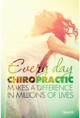 Chiropractic Makes a Difference Poster