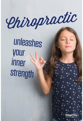 Chiropractic Unleashes Your Inner Strength Poster