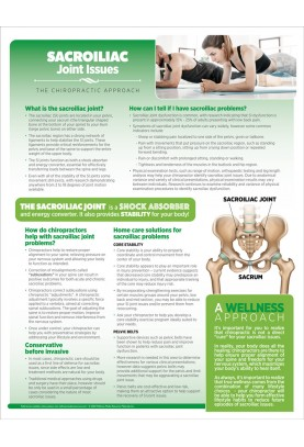 Chiropractic Sacroiliac Joint Issues Handout