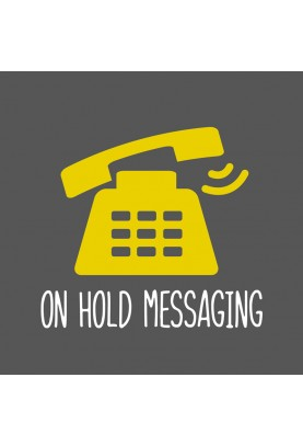 On Hold Messaging