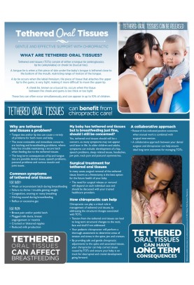 Tethered Oral Tissues Chiropractic Handout