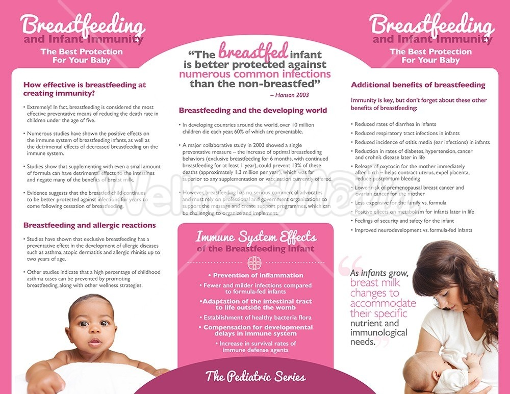 a comparison of the effects of breast feeding and artificial formulas
