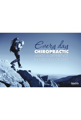 Everyday Chiropractic Makes a Difference Poster