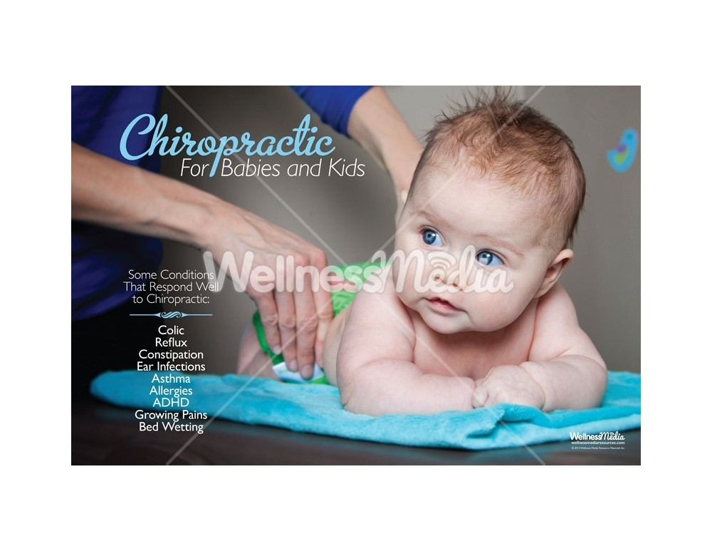 Chiropractic Kids Conditions Poster