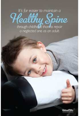 Healthy Spine Child Poster