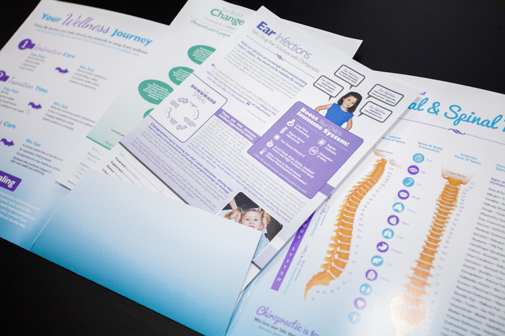 Chiropractic Report of Findings Folders and Handouts